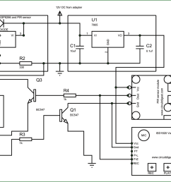 circuit diagram for esp8266 security system project [ 1600 x 900 Pixel ]