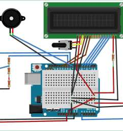 iot air quality monitoring system using arduino circuit [ 1229 x 853 Pixel ]