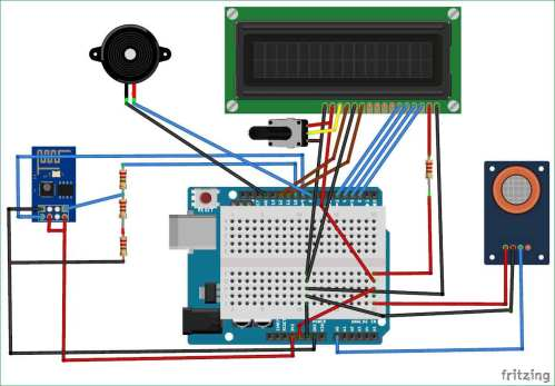 small resolution of iot air quality monitoring system using arduino circuit