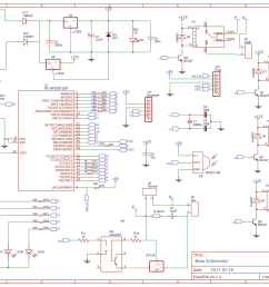 circuit diagram for pic microcontroller based remote controlled home automation [ 1800 x 1273 Pixel ]