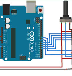 simple arduino digital voltmeter circuit [ 1500 x 794 Pixel ]