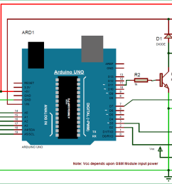 arduino based automatic plant irrigation system circuit diagram [ 1432 x 712 Pixel ]