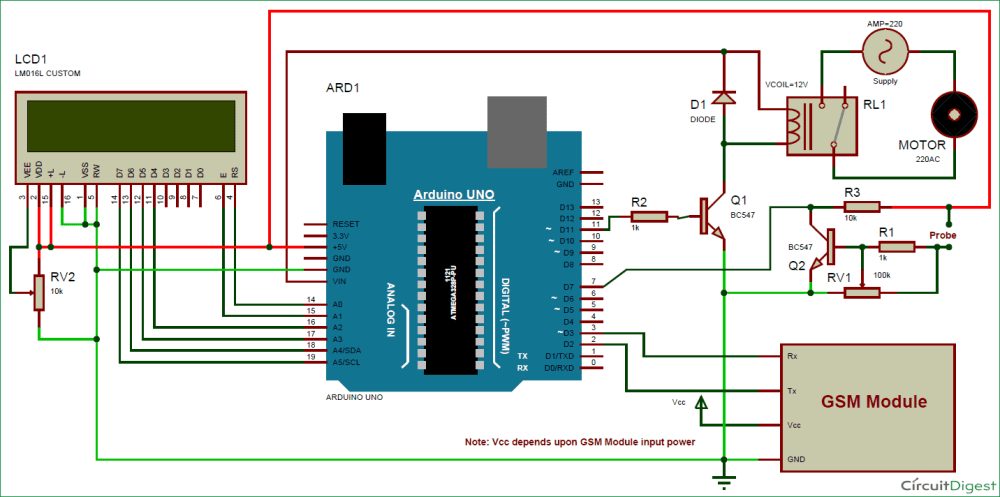 medium resolution of arduino based automatic plant irrigation system circuit diagram