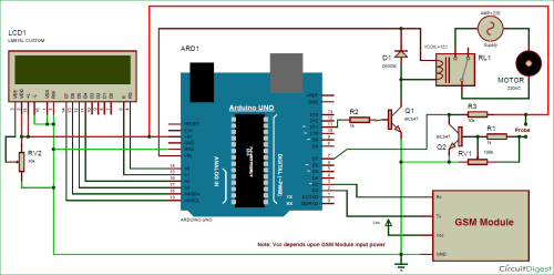 small resolution of arduino based automatic plant irrigation system circuit diagram