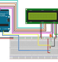 arduino based digital ammeter circuit diagram [ 1200 x 728 Pixel ]