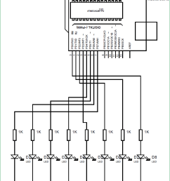 arduino propeller led display circuit diagram [ 779 x 1196 Pixel ]