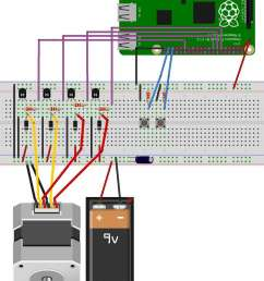 stepper motor control with raspberry pi laptop power supply also stepper motor driver circuit diagram besides [ 889 x 1200 Pixel ]