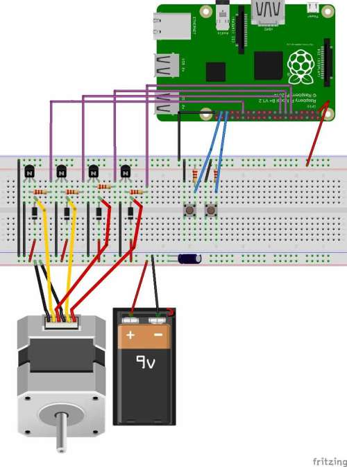 small resolution of stepper motor control with raspberry pi laptop power supply also stepper motor driver circuit diagram besides