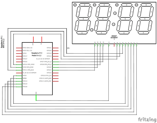 small resolution of interfacing 4 digit 7 segment with raspberry pi circuit diagram