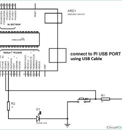 interfacing arduino with raspberry pi circuit diagram [ 1079 x 1016 Pixel ]
