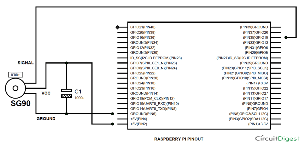 medium resolution of raspberry pi servo motor control circuit diagram