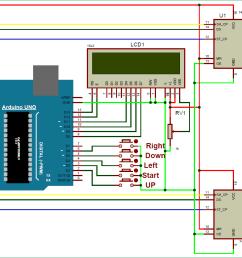8x8 led matrix using arduino microcontroller circuit diagram code wiring diagram for you [ 1287 x 873 Pixel ]