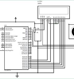 interfacing ultrasonic sensor hc sr04 with pic microcontroller the circuit diagram tentative programme 1 count and display circuit [ 1290 x 765 Pixel ]