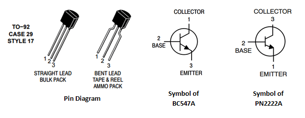 Transistor Pin Diagram Wiring Schematic Diagram 123