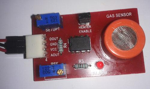 Lpg Gas Detector Circuit Diagram