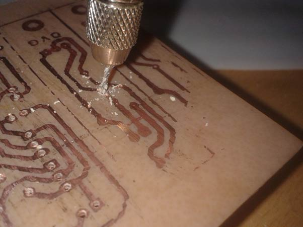 Diy Circuit Boards Using Photo Etch Process Circuit Construction
