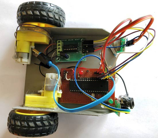 Line Follower Robot Without Using Microcontroller