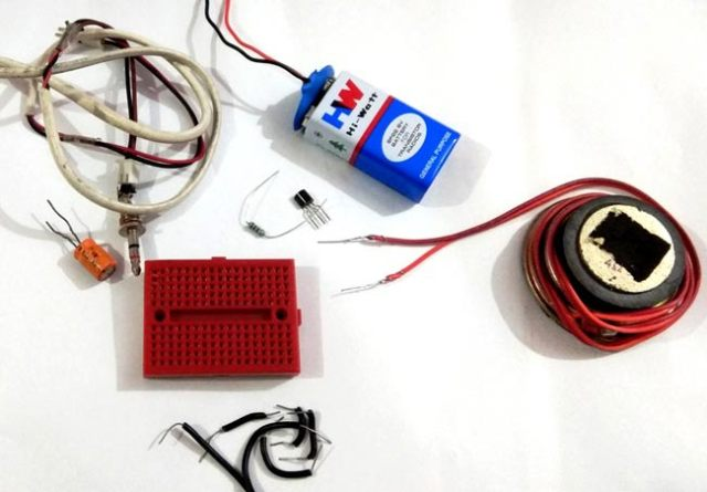 amplifier circuit components