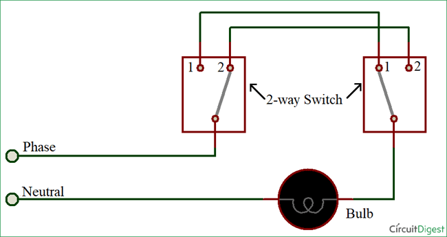 Way Switch Animation - Wiring Diagrams •