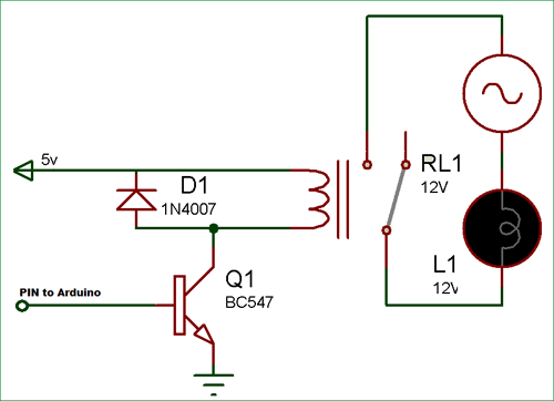 arduino relay control tutorial with code and circuit diagram