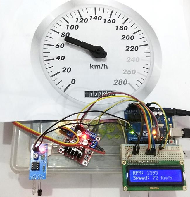 How To Circuit A Digital Speedometer Using Lm324