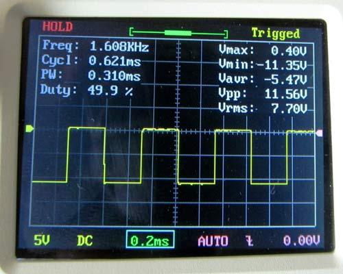 Square Wave Generator Schematic
