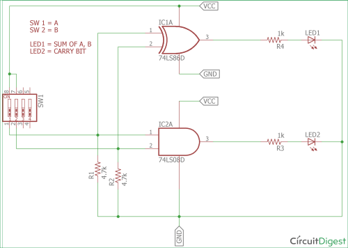 small resolution of half adder circuit diagram