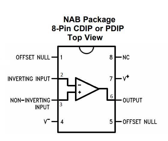 lm324 pin diagram