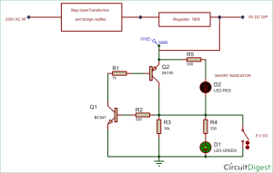 ShortCircuit Protection Circuit Diagram