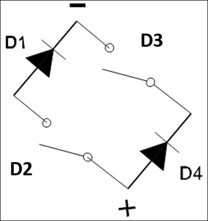 Simple Bridge Rectifier Circuit