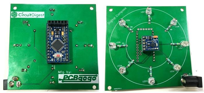 Digital Compass Circuit