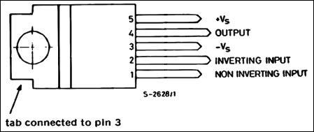40 Watt Audio Amplifier Circuit Diagram using TDA2040 and