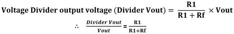 Voltage Divider Circuit Potential Difference In Resistor Networks