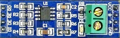 Pinout of RS-485