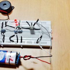 Ultrasonic Motion Detector Circuit Diagram Suzuki Cultus Wiring Laser Security Alarm Using Ic 555 And Lm358