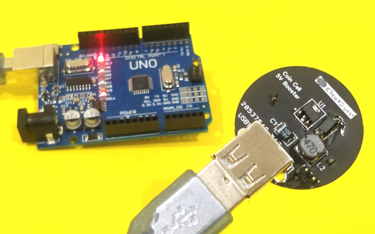 Max1703 Single Cell Boost Converter Circuit