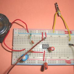 Headphone With Microphone Wiring Diagram Relay Small Loudspeaker Circuit Using Ic Lm386
