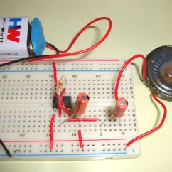 Convert Circuit Diagram To Breadboard Light Switch Wiring 2 Way Ticking Sound Using Ic 555