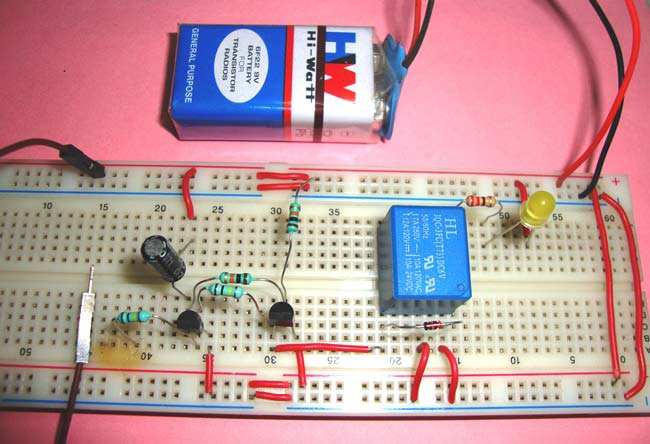 Build A Simple Home Alarm Circuit Using 555 Ic39s Electronic Circuits