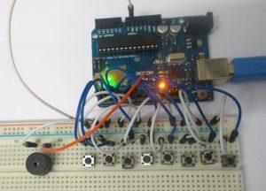 Arduino Tone Generator Circuit Diagram and Code