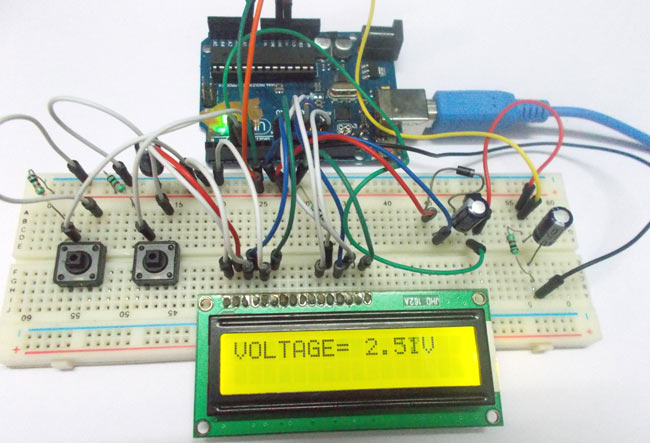 Motor Control Circuit On Variable Voltage Power Supply Schematic