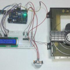 Liftmaster Garage Door Opener Wiring Diagram Mk4 Golf Speaker Automatic Project Using Pir Sensor And Arduino
