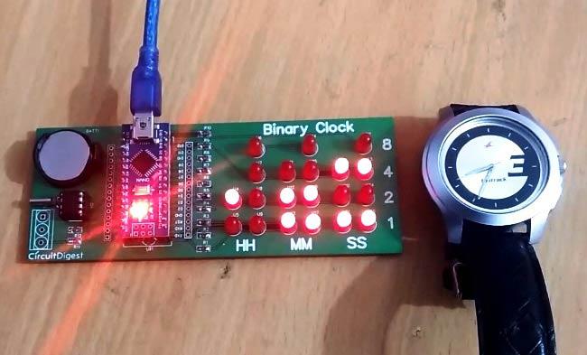 28 Led Clock Timer Electronic Circuit Diagram