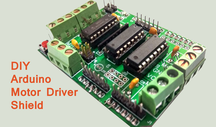 Stepper Motor With Pic Microcontroller Using L293d Circuit Diagram