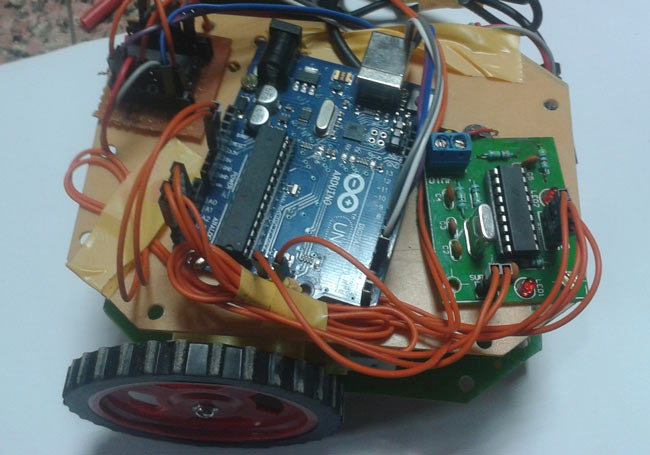 11 Pin Timer Wiring Diagram Dtmf Controlled Robot Using Arduino Complete Project With