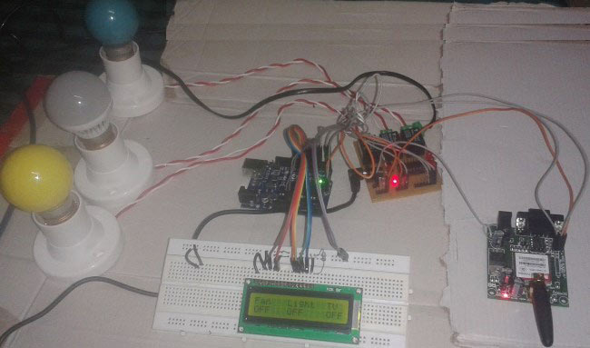 Gsm Based Cell Phone Remote Control Switch Circuit Homemade Circuit