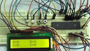 AVR Microcontroller Based Electronic Voting Machine (EVM) Project