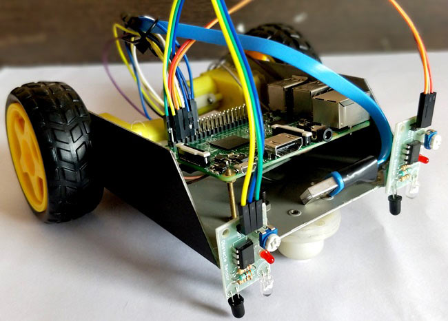 Line Following Robot Circuit