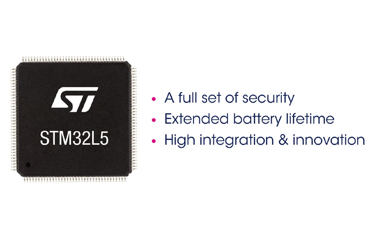 STM32L5 Ultra-Low-Power Microcontrollers for More Secured