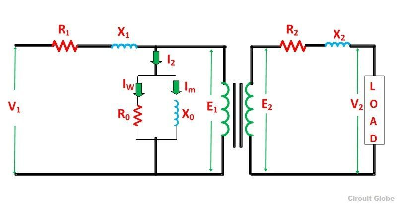 Equivalent Circuit Of A Transformer? Referred To Primary